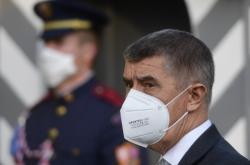 Premiér Andrej Babiš po jednání s prezidentem Milošem Zemanem