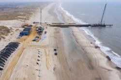 Přípravy na stavbu plynovodu Baltic Pipe na dánském pobřeží