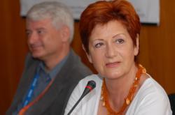 Irena Ondrová na tiskové konferenci k 47. ročníku ZFF (2007)