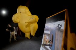 Sloní maskot 26. ročníku festivalu Mateřinka