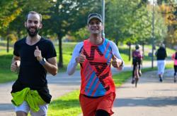 Běžci v Brně