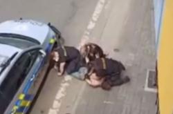 Zákrok policie v Teplicích