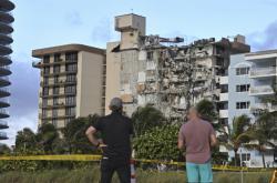 U Miami se zřítila budova