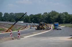 Stavba úseku dálnice D35 Opatovice - Časy