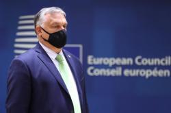 Maďarský premiér Viktor Orbán na unijním summitu