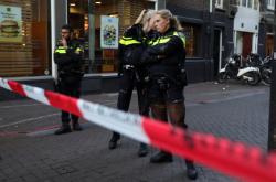 Policisté uzavřeli místo střelby v centru Amsterdamu