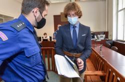 Obžalovaný Tomáš Fiala u soudu