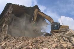 Demolice armádních budov na Čerchově