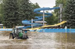 První polovina léta přinesla i záplavy