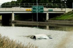 Záplavy v Detroitu