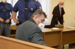 Jaromír Prokop na jednání středočeského krajského soudu v Praze