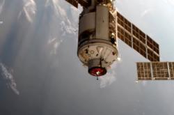 Nauka se připojila k ISS