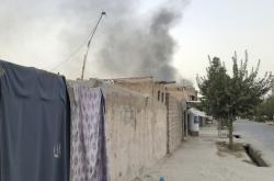 Následky výbuchu v Afghánistánu
