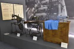 Výstava šicích strojů Minerva v Technickém muzeu