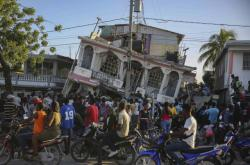 Následky zemětřesení na Haiti, které postihlo jih země může zkomplikovat příchozí tropická bouře