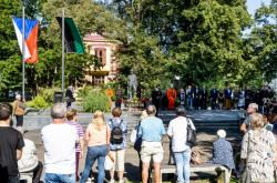Pietní vzpomínka v Litvínově