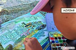 Talentovaný kluk uchvátil svět umění