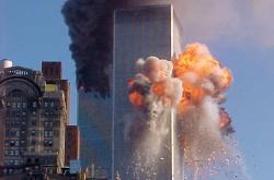 Hořící WTC