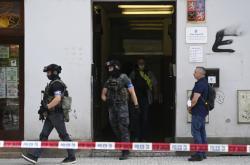 Zásah policie na úřadě práce v pražské Bělehradské ulici