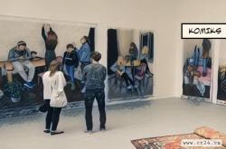 Výstava absolventů Akademie výtvarných umění v Praze