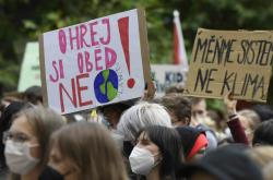Demonstrace za klima