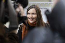Islandská premiérka Katrín Jakobsdóttirová