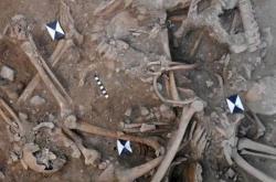 Masový hrob křižáků