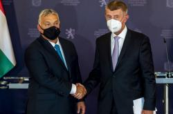 Viktor Orbán a Andrej Babiš
