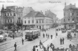 Historická i současná vozidla ostravského dopravního podniku
