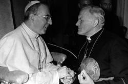 Jan Pavel I. s kardinálem Karolem Wojtylou