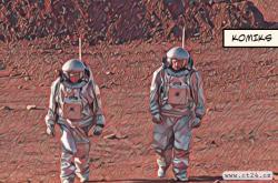 Trénink pobytu na Marsu v poušti