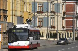 Trolejbus v Opavě