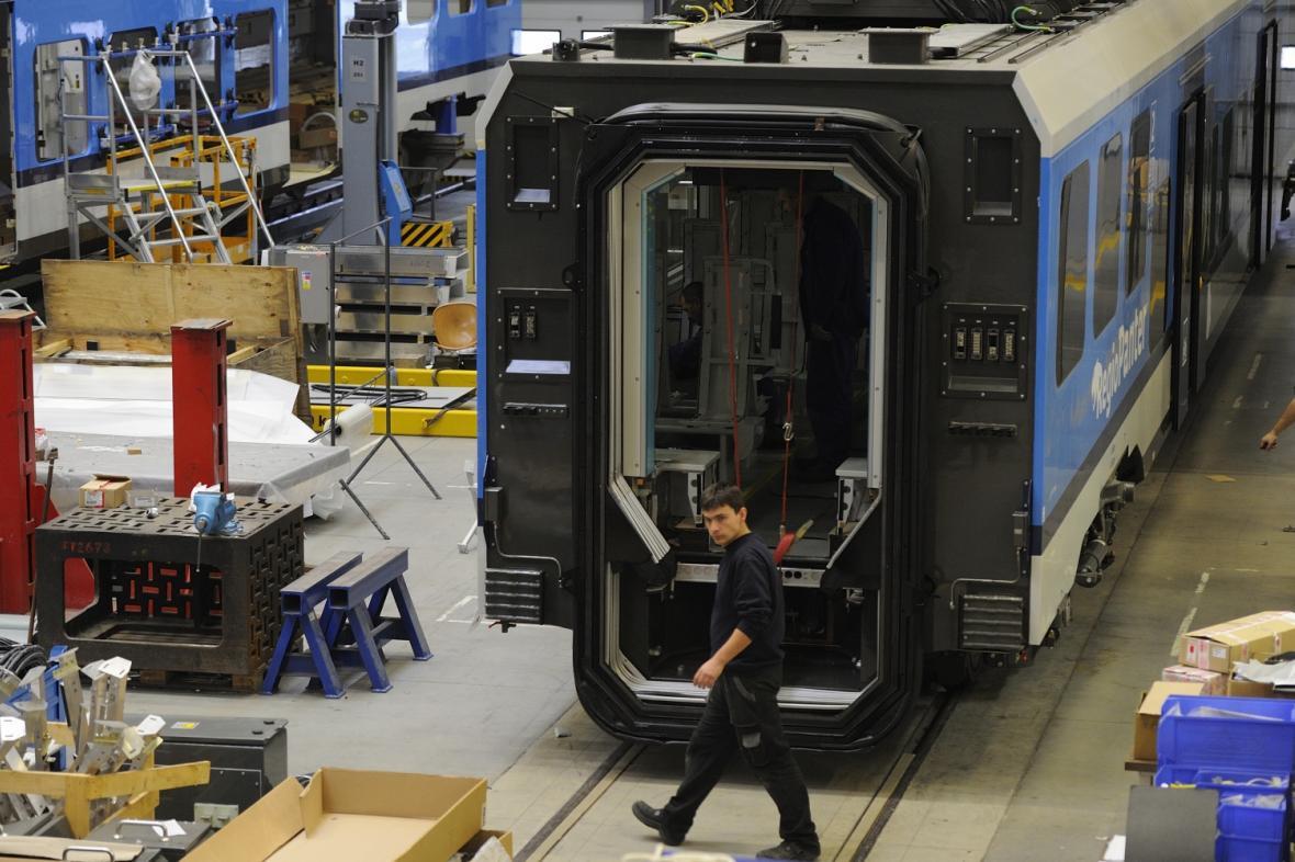 Výroba ve Škoda Transportation