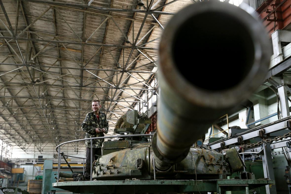 Kyjevská opravna obrněné techniky