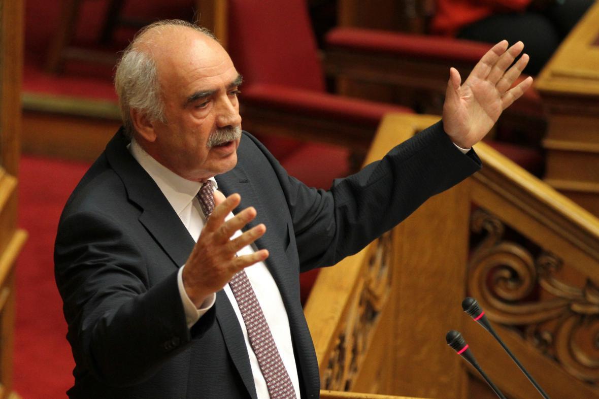 Lídr Nové demokracie Evangelos Meimarakis