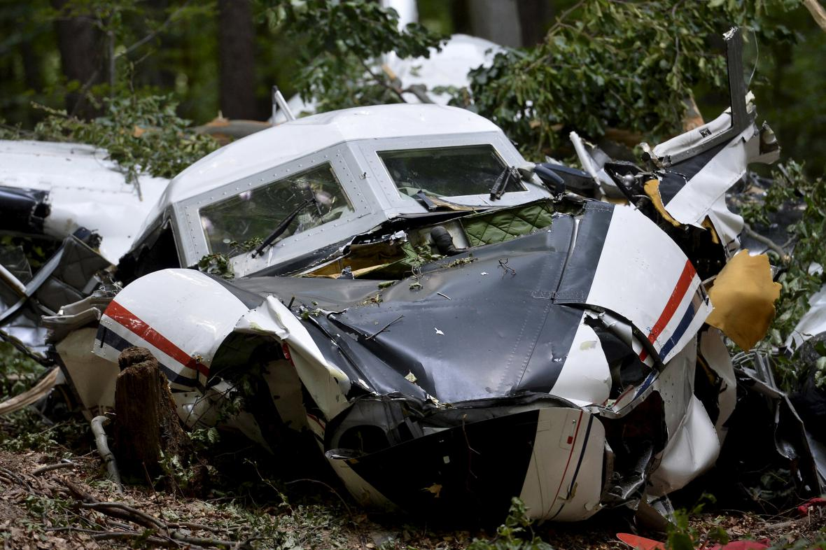 Nehoda letadel na Slovensku