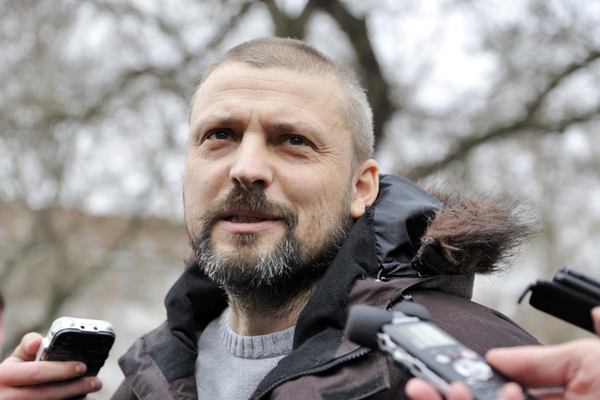 Roman Pekárek v únoru 2013