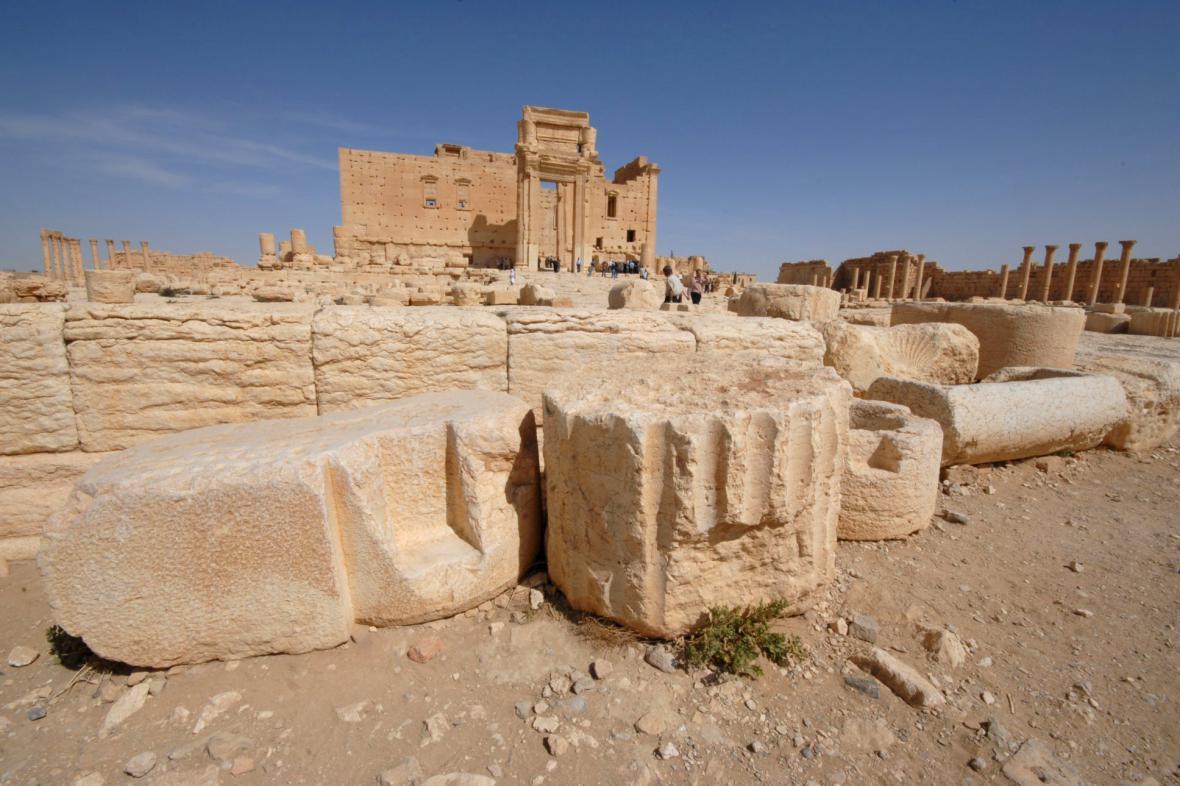 Belův chrám v Palmýře