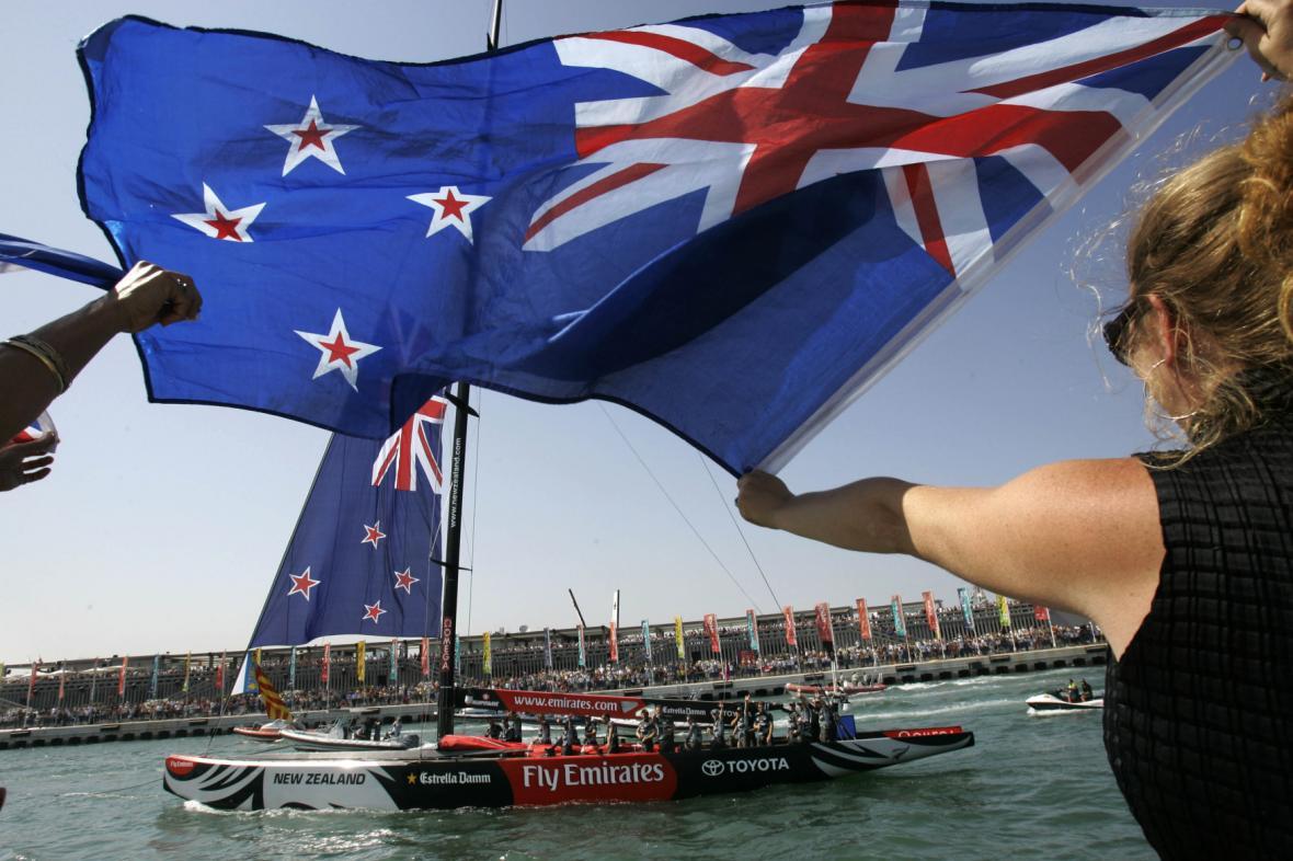 Vlajka Nového Zélandu