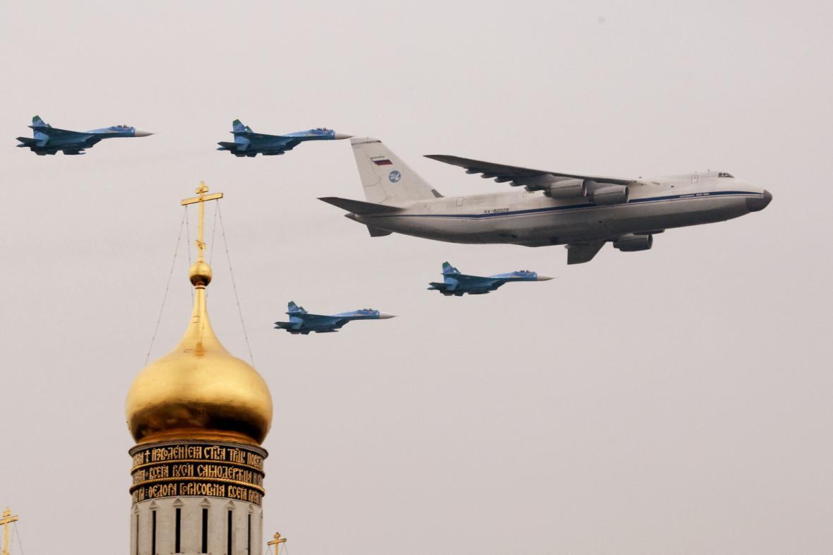 Ruské vojenské letouny