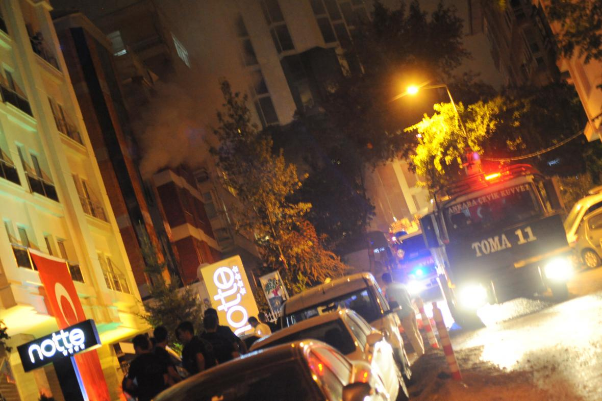 Protest tureckých nacionalistů