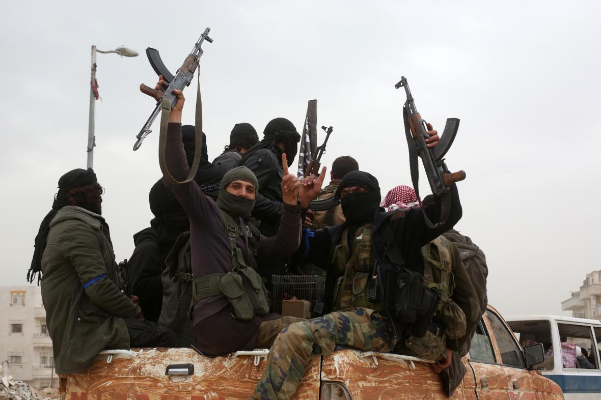 Radikální skupiny v Idlibu