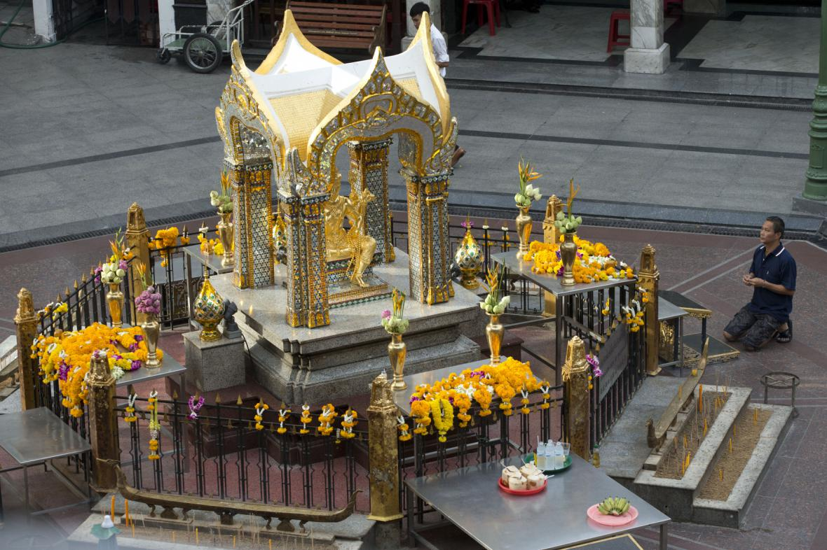 Svatyně v Bangkoku