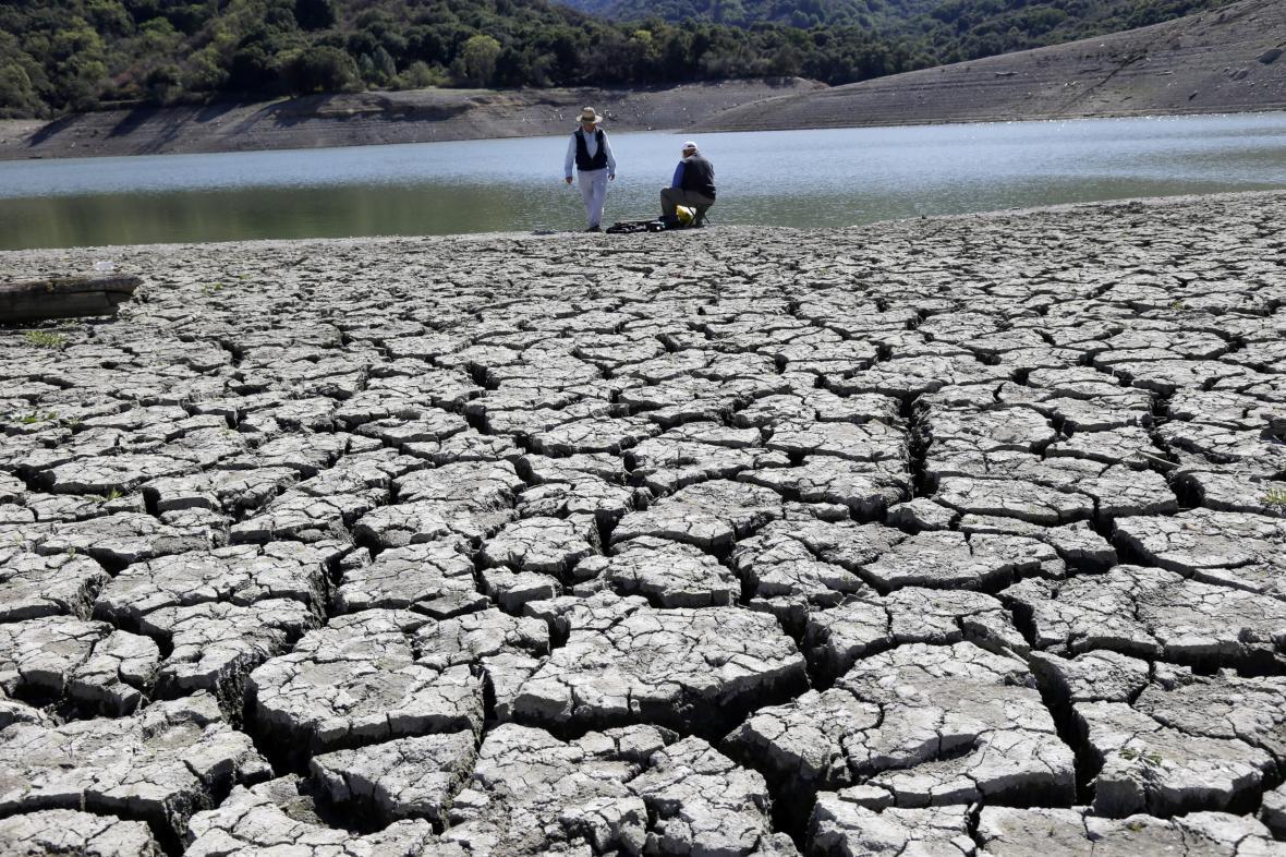 Sucho v Kalifornii