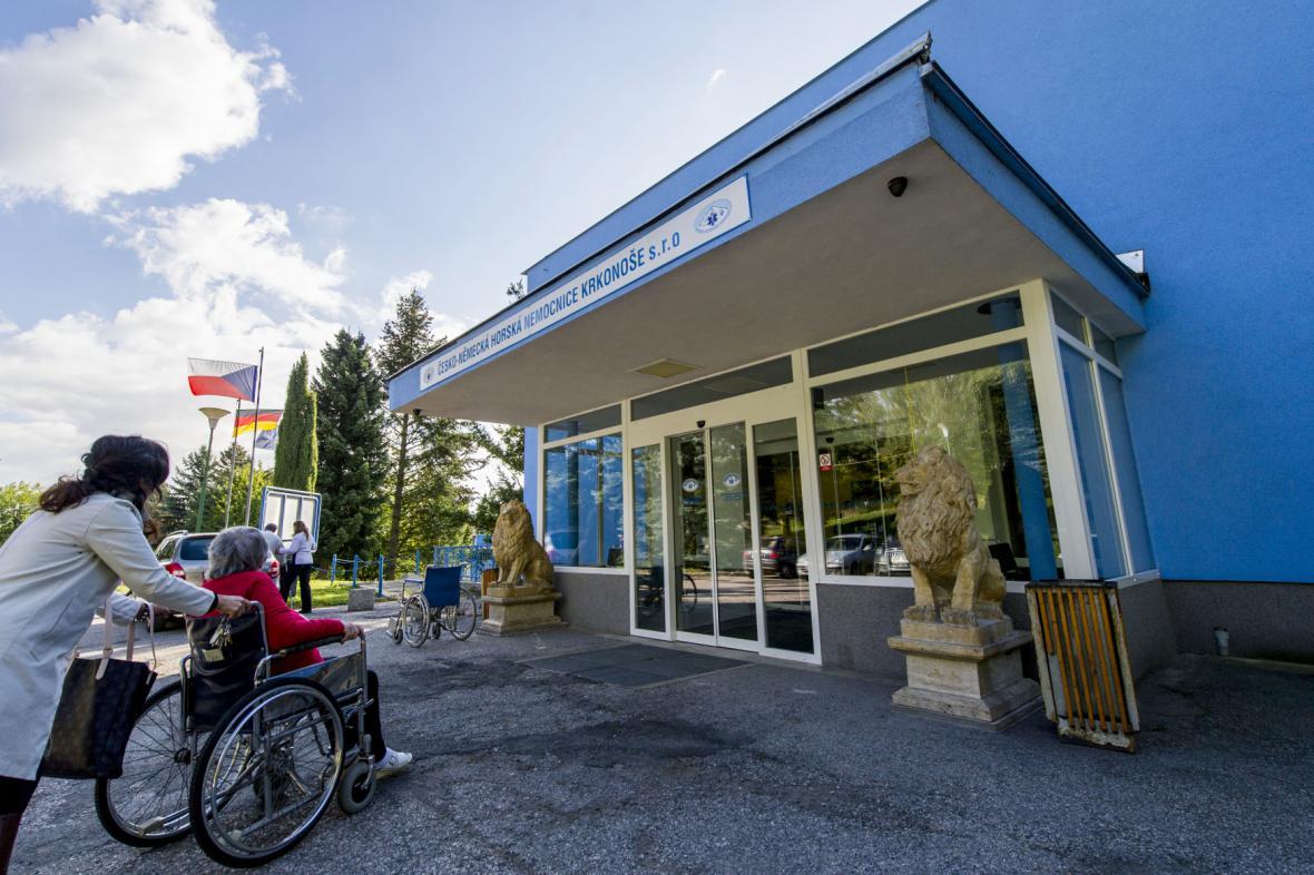 Česko-německá horská nemocnice ve Vrchlabí
