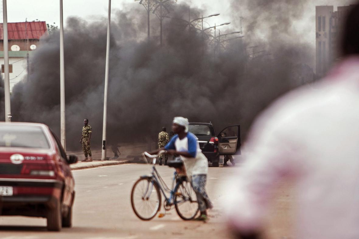 Pouliční nepokoje v Burkině Faso