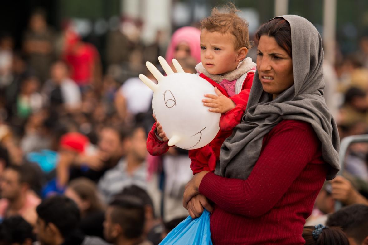 Uprchlíci v Rakousku
