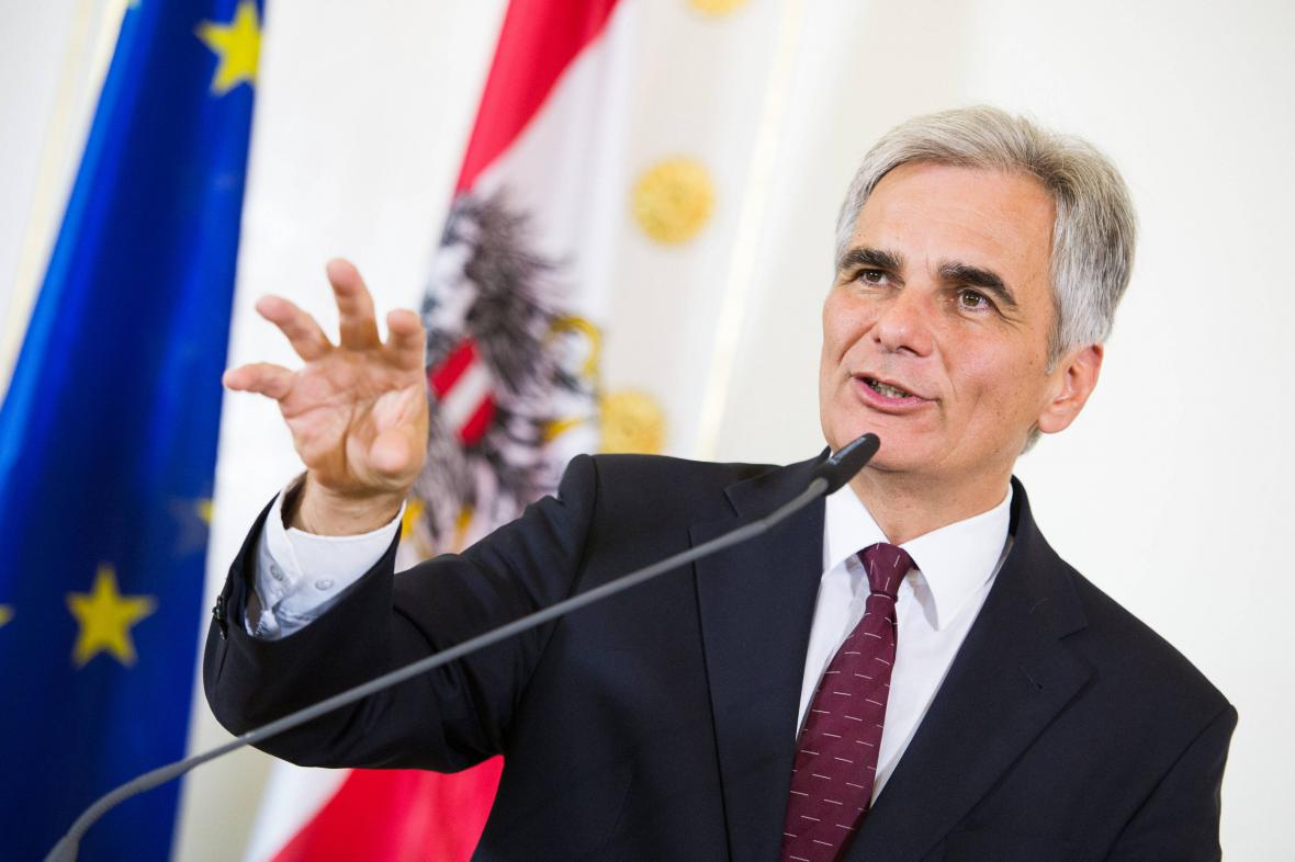 Rakouský kancléř Werner Faymann