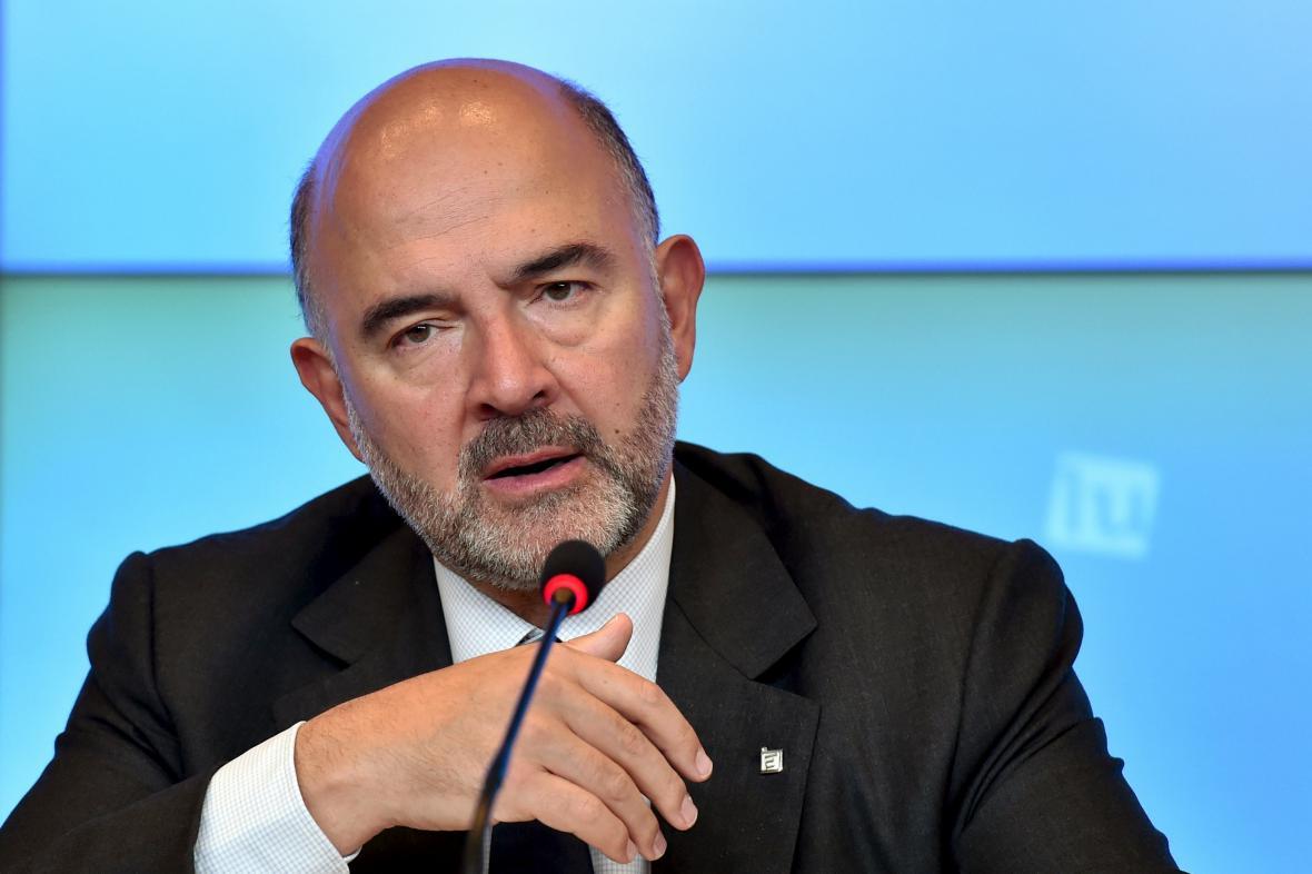 Pierre Moscovici, evropský komisař pro hospodářské a měnové záležitosti