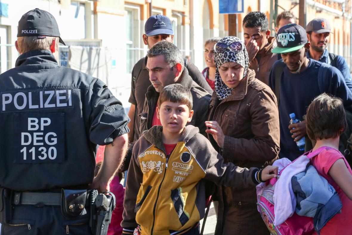 Uprchlíci v Pasově
